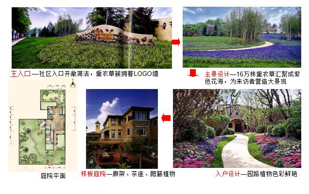 中高档住宅设计地产开发商示范区景观研究