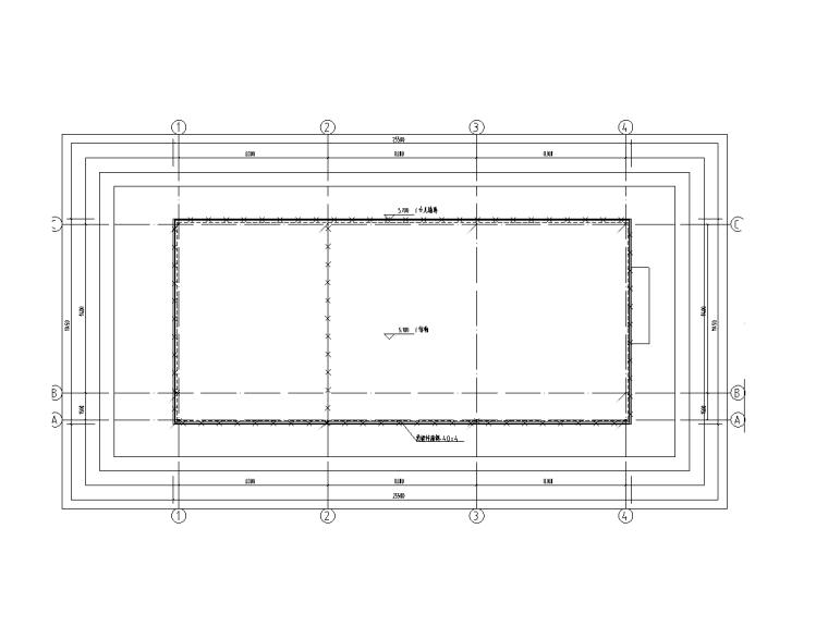 上海产业园改造全套图纸(建筑结构水暖电)