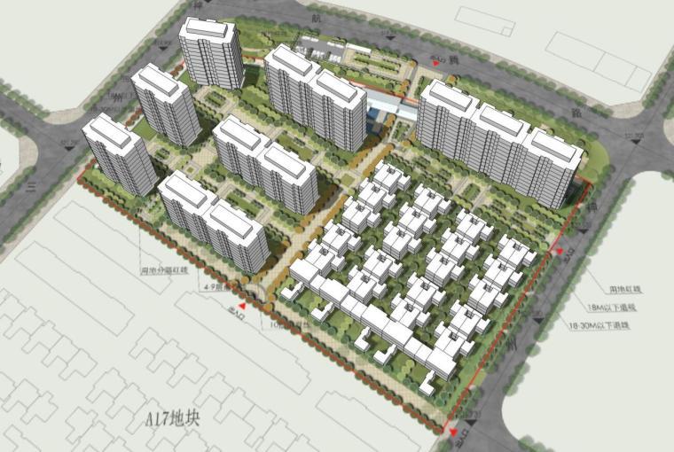 [陕西]中式风格别墅建筑方案设计
