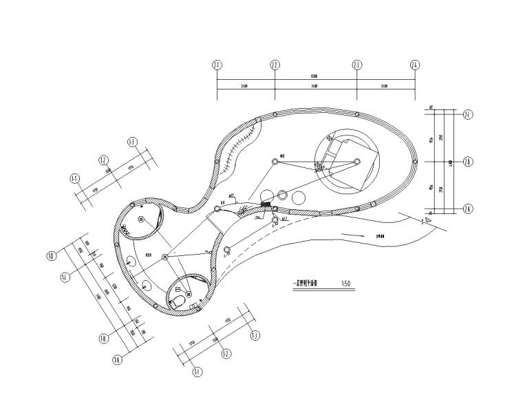 二层钢结构酒店施工图资料下载-云南2层酒店钢结构电气施工图
