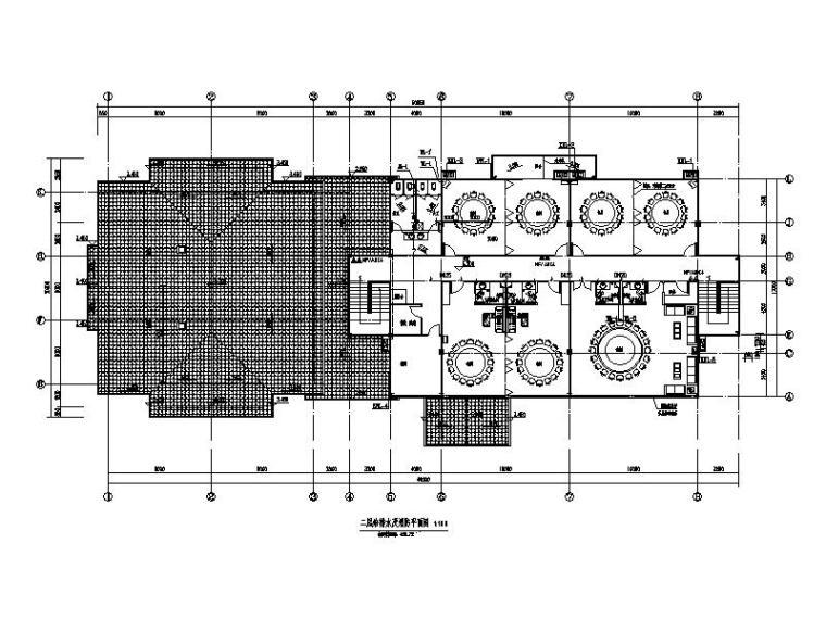 景区酒店(榫卯结构)图纸给排水含招标文件