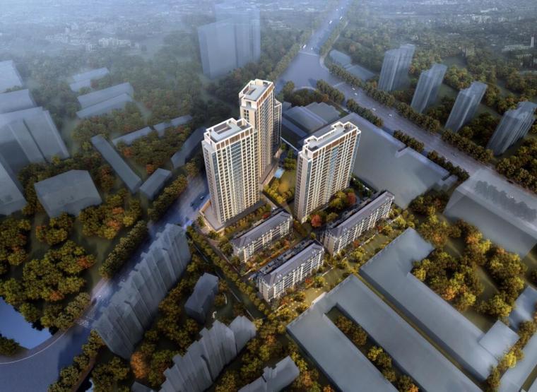 [上海]大都会风格高层住宅建筑方案设计