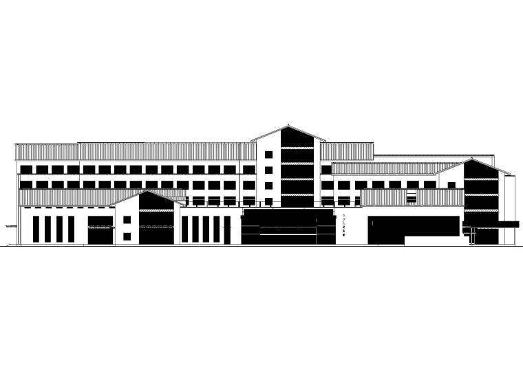 [江苏]某五层框架结构人民医院改造项目图纸