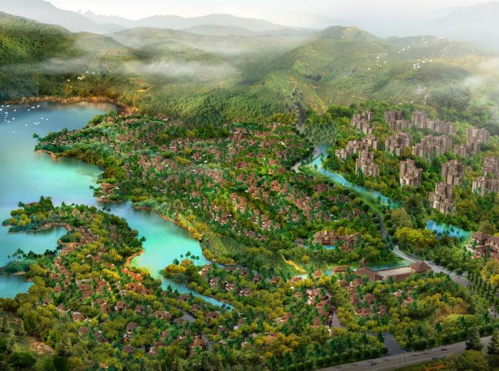 某热带雨林养生谷修建性详细规划报建文本