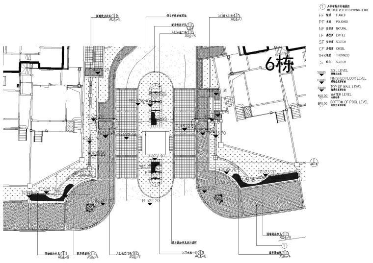 主入口平面图