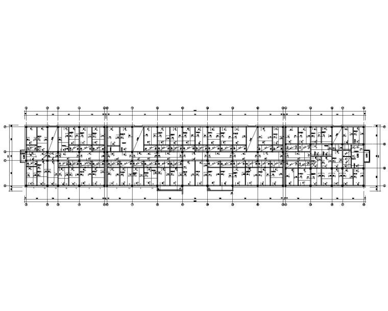 某六层混凝土框架办公楼结构施工图(CAD)