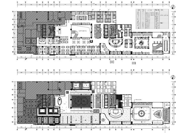 [武汉]邦可西餐厅咖啡厅室内装饰设计施工图