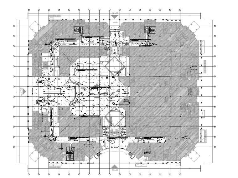 大院_北京购物中心改造项目施工图[全专业]