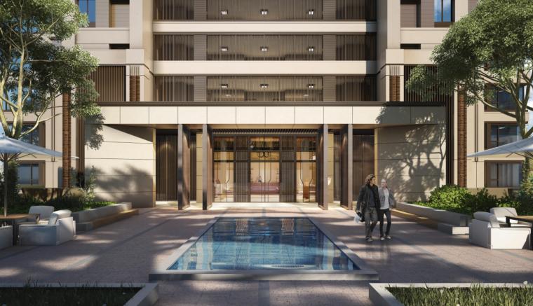 新古典风格高层住宅投标方案设计