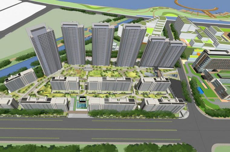 二层豪宅设计资料下载-[浙江]登顶滨水豪宅建筑总体规划设计