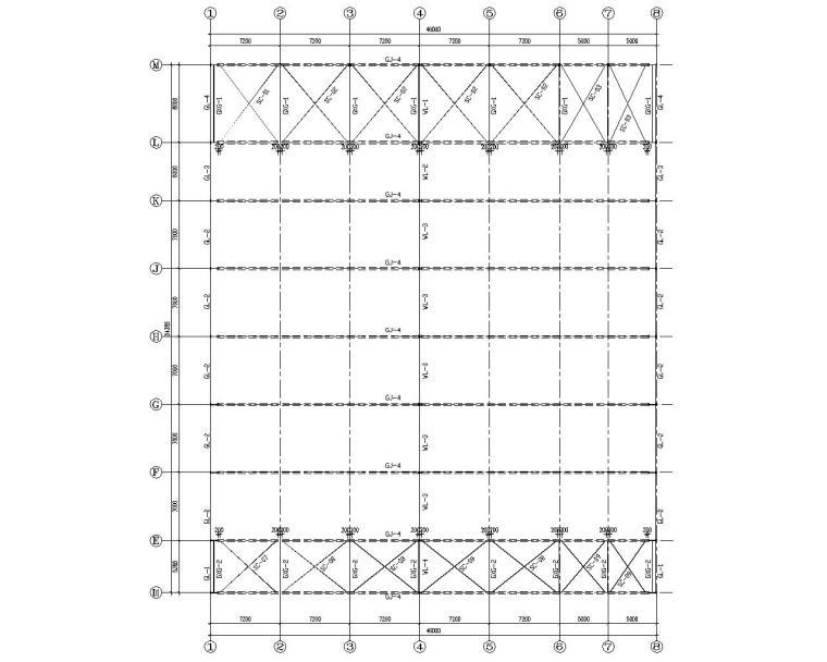 如何做好钢结构设计系列讲座资料下载-某4s店展示厅钢结构设计施工图(CAD)