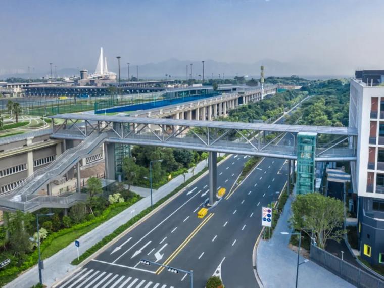 深圳南山区地铁上盖市政体育公园