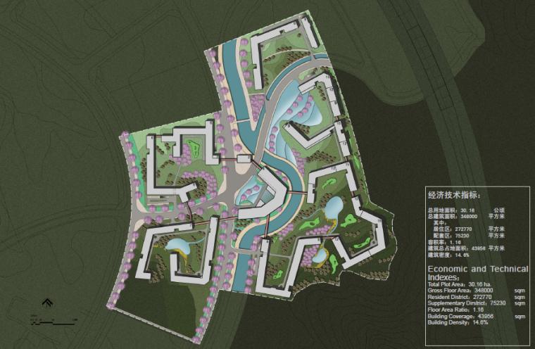 [北京]平谷国际综合退休社区景观设计方案