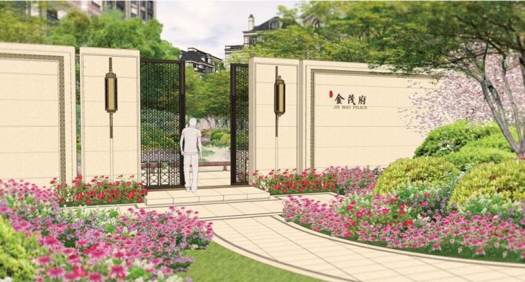 [浙江]新古典风格滨江住宅景观方案设计
