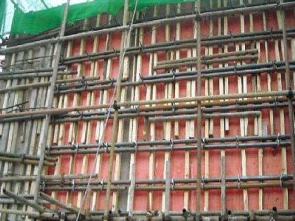 建筑施工技术之模板工程施工工艺-支承件