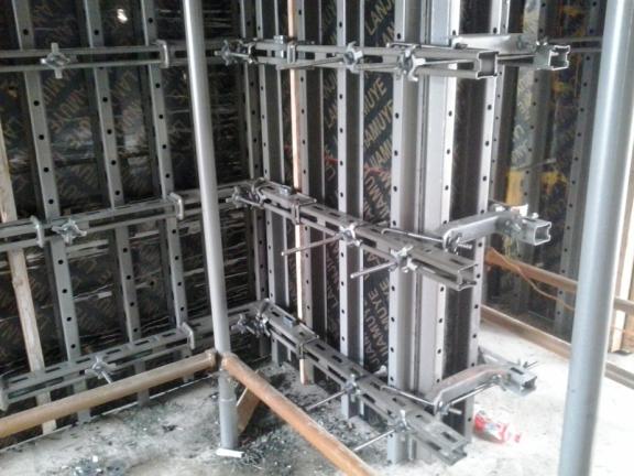 建筑工程之模板工程施工技术交底