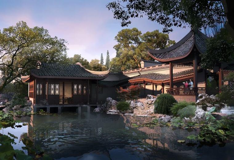 想设计一个中国古建园林吗?这里或许可以帮