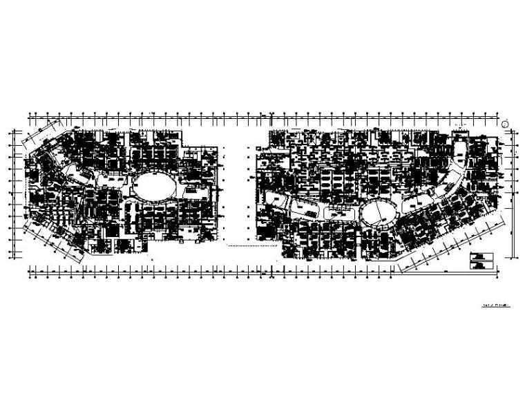 农贸市场通风设置资料下载-大型商业广场空调_通风_防排烟设计图纸2019