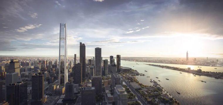 摩天楼——绿地金茂国际金融中心