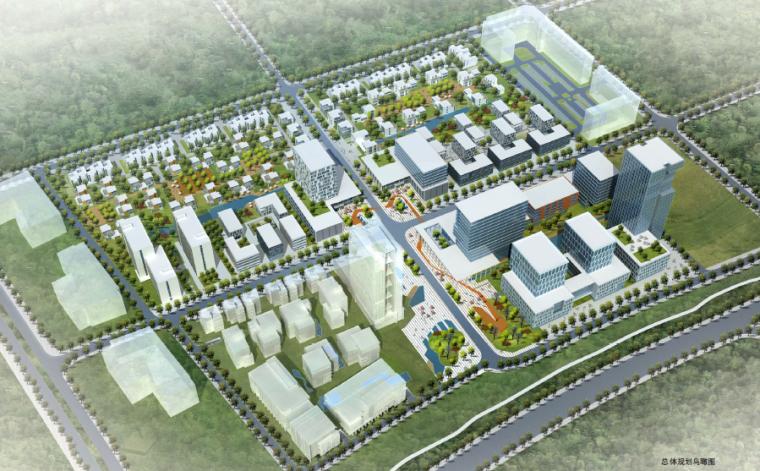 [广东]东莞国际金融创新园规划设计方案