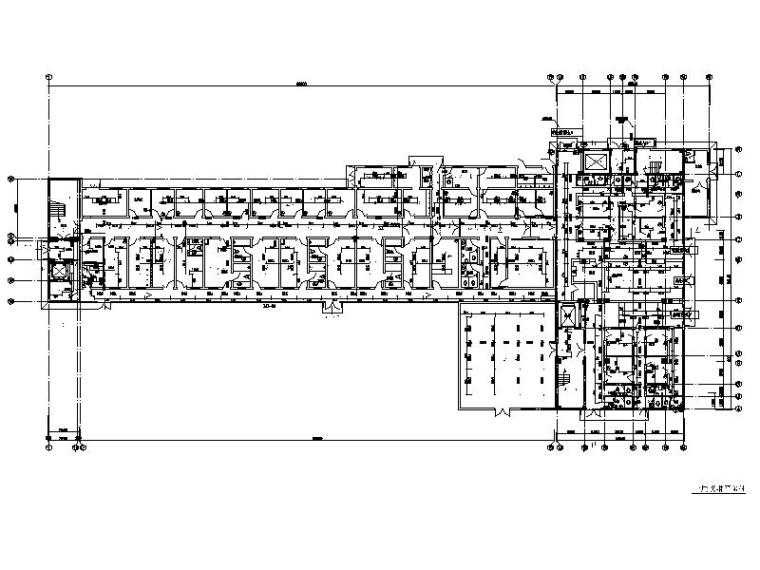 五层住院楼给排水施工图(含建筑,电气)