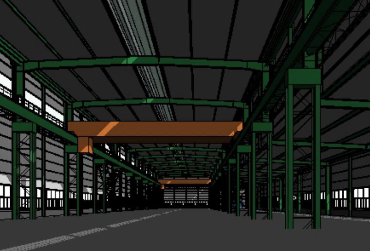 RevitStructure钢结构厂房建模教程(全套)