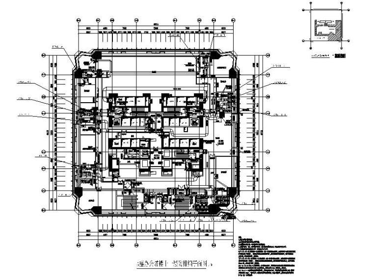 深圳超高层办公_公寓_酒店水暖电全套施工图