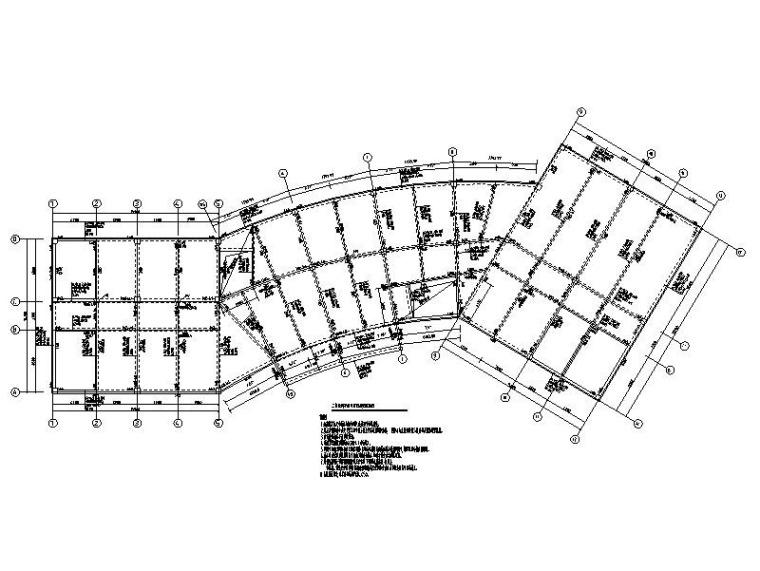 3层便民服务中心及配套设施框架结构施工图