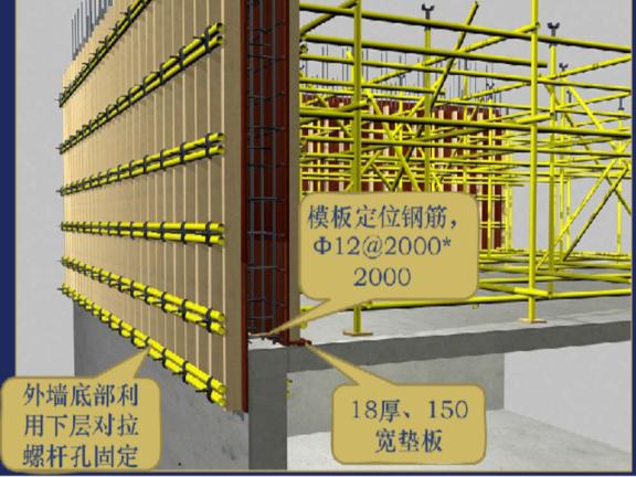 建筑工程模板工程技术交底及工艺流程