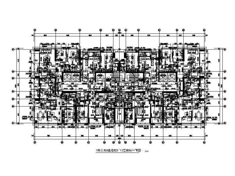 深圳超高层办公及公寓水暖电全套施工图