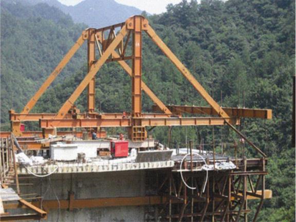 建筑施工技术之模板工程施工工艺-滑动模板