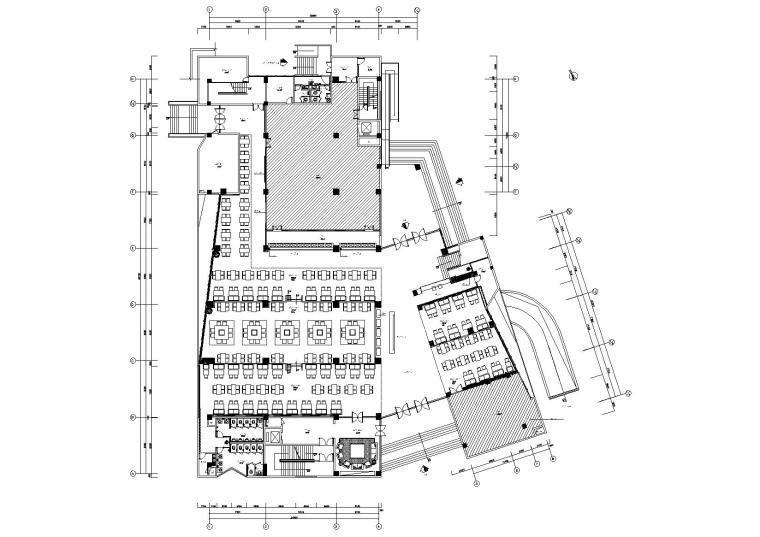 [四川]成都现代三层M5会所室内设计施工图