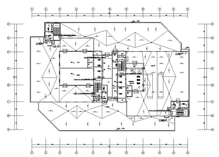 内蒙古综合三甲医院弱电智能化施工图纸