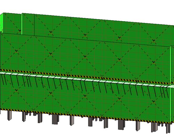 BIM大赛外脚手架施工方案案例演示(模型)