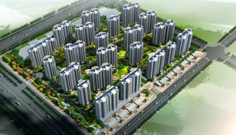 [安徽]合肥绿色公园式居住区景观设计方案