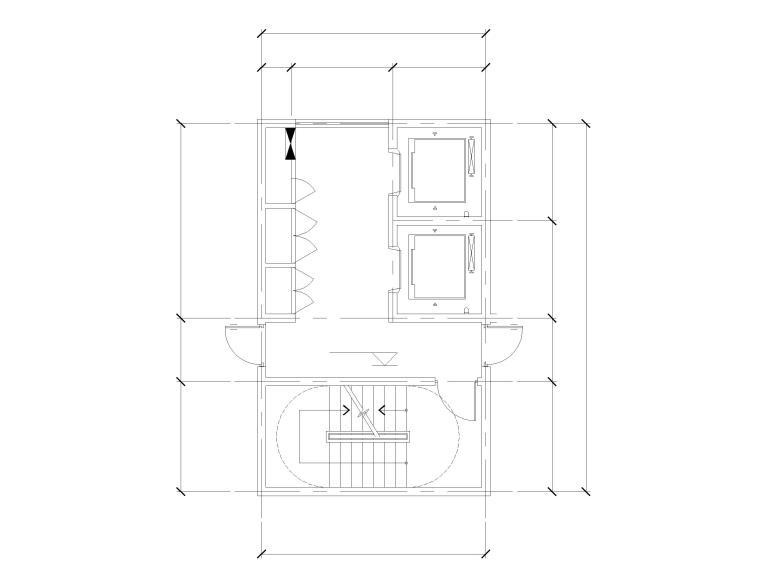 标准层核心筒大样图(标准化文件)