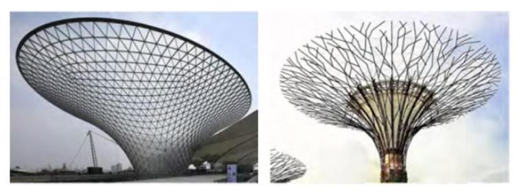 成都南站枢纽城市综合体连体喇叭花结构设计