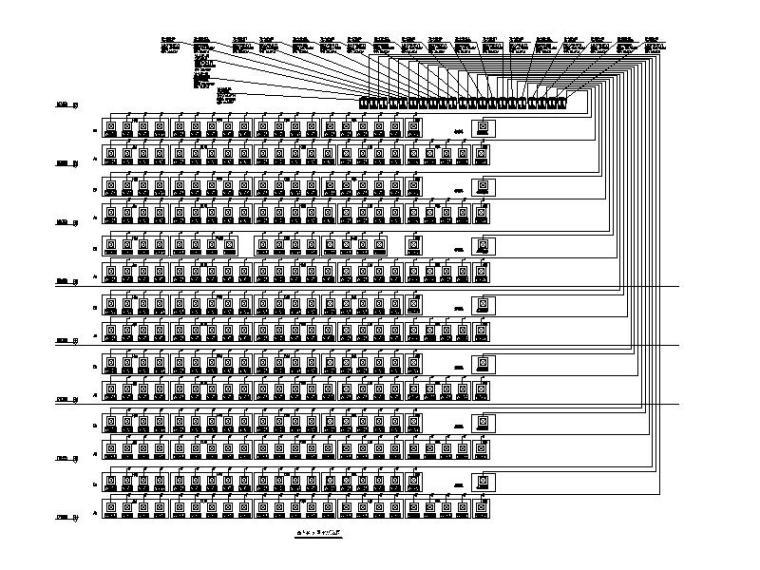 西塔44-51层VRV系统图