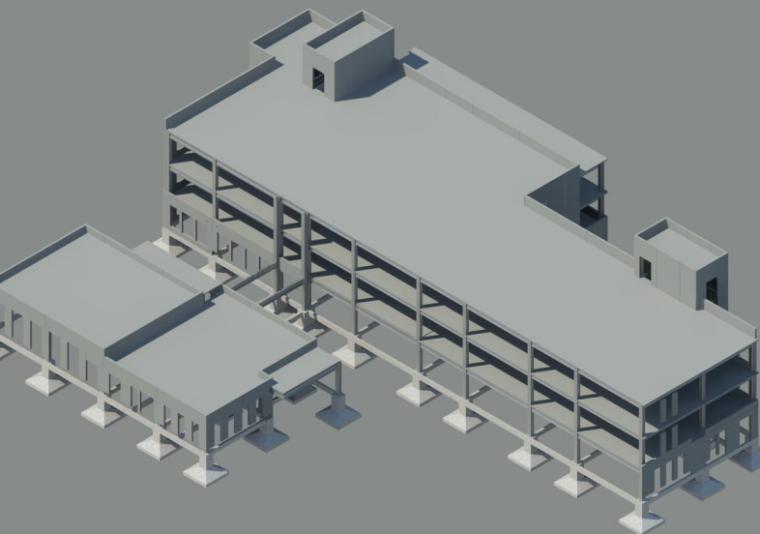 济南外墙挂板安装BIM技术交底(模型及材质)