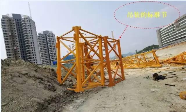 2死3伤,深圳一在建工地发生塔吊倒塌事故_6