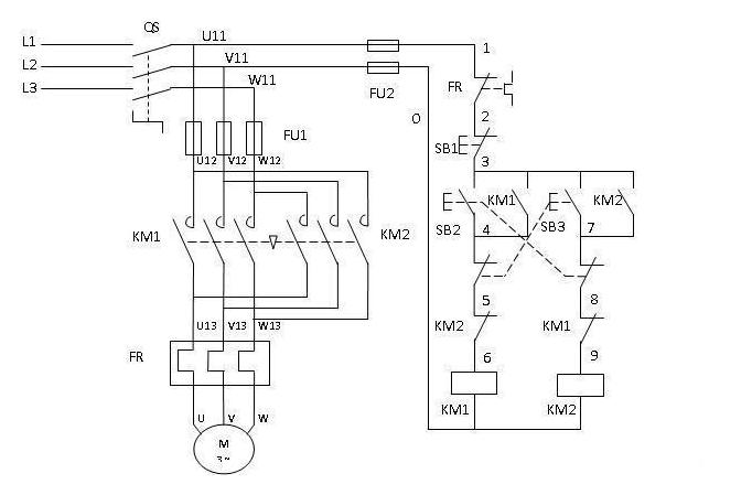 二次回路接线要求资料下载-电气二次回路看图及电工电路接线的要领口诀