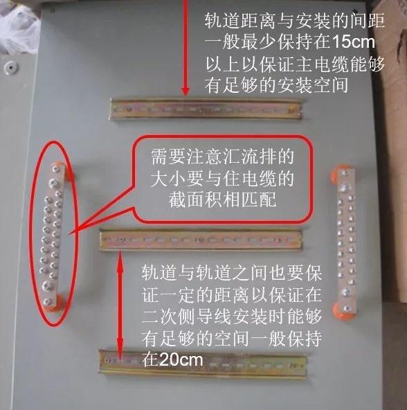 图文教你如何做好配电箱内部配线
