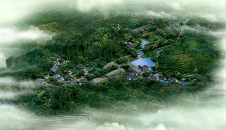 古典园林效果图(5)