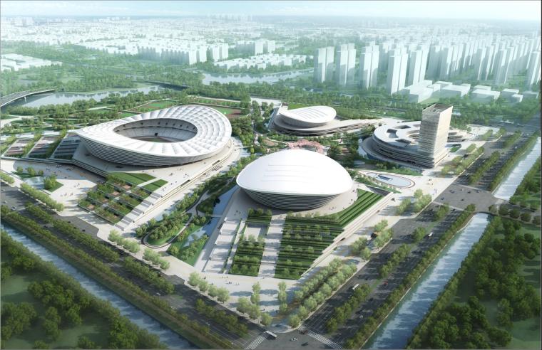 工业园区钢结构工程体育场吊装专项方案