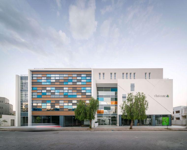 突尼斯Vitalcube医疗办公室大楼-00FI_VITALCUBE_Img_(2)