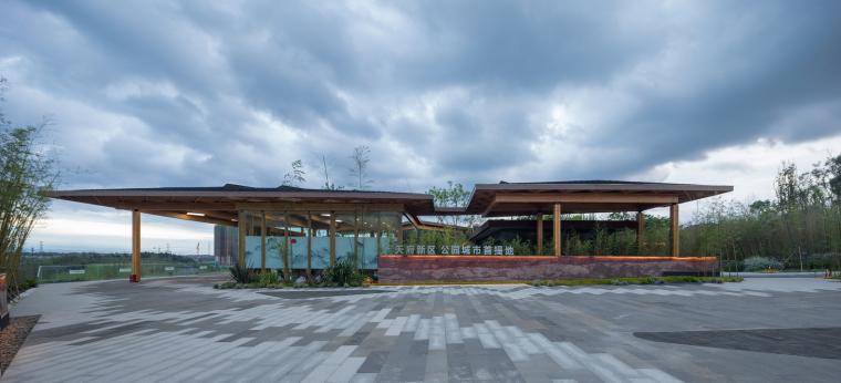 成都天府新区公园之城展览馆-图1