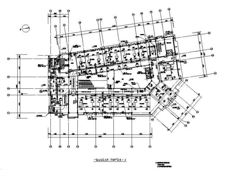 江苏商业楼暖通施工图(建筑结构水暖电)