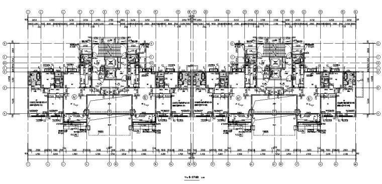 三房两厅两卫户型平面图