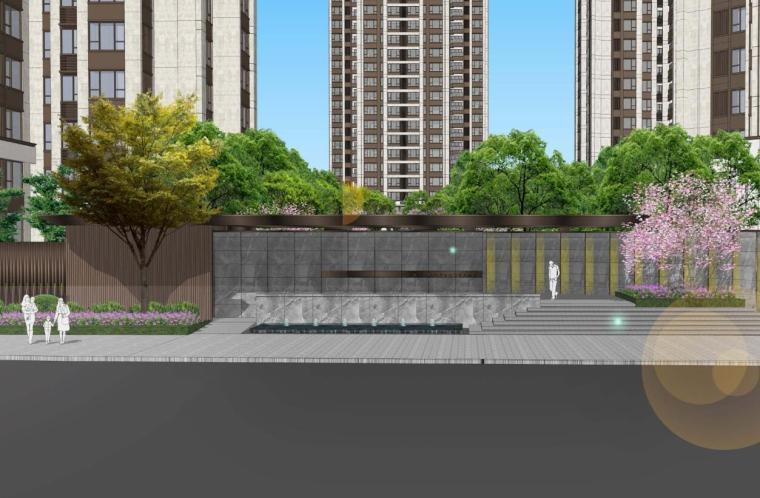 [重庆]花园式居住区景观深化方案设计