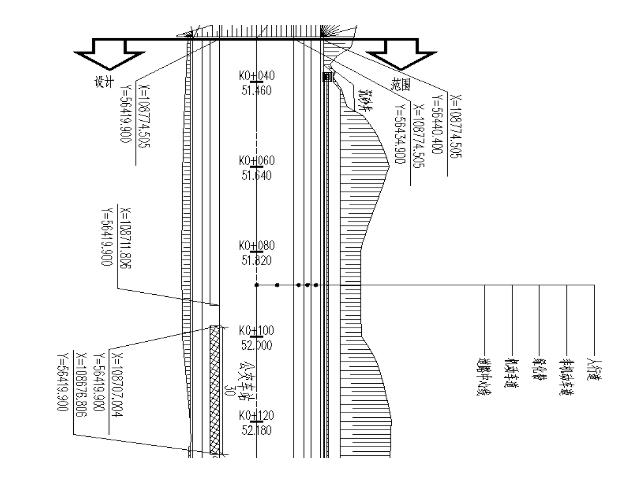 [长沙]城市次干路双向四车道施工图设计